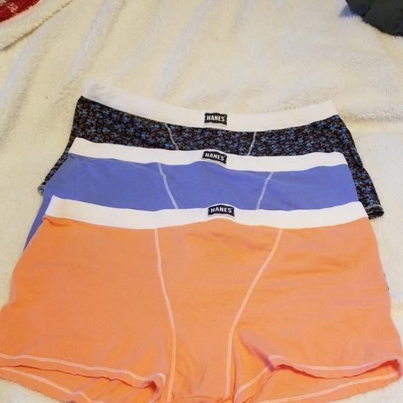 537c3b79ca9d Hanes Intimates & Sleepwear | Womens 3 Pack Vintage Boyfriend Boxer ...